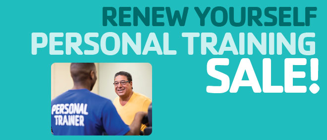 Personal Training Sale!